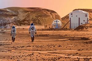 خانه های مریخی ساخته شد +تصاویر