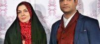 ابراز عشق داغ مجری زن مشهور به همسر و دخترش