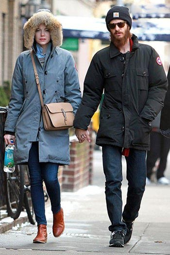 مدل پالتو و کاپشن بازیگران هالیوودی برای زمستان +تصاویر