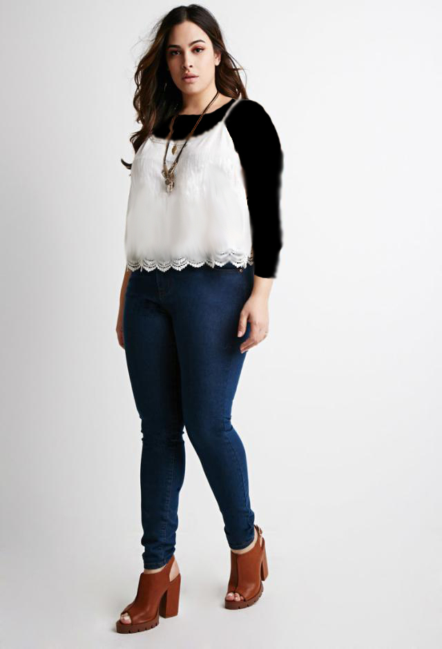 نکته های پوشین شلوار لی مناسب برای خانمهای چاق