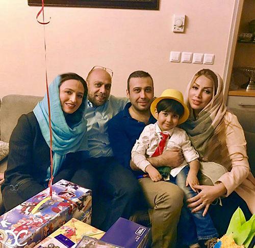 بازیگران در جشن تولد پسر محسن چاووشی +تصاویر