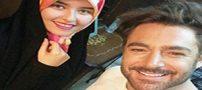 عکس سلفی زیبای گلزار و دختر نوه امام خمینی