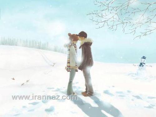 داغ و زیباترین عکس های عاشقانه دو نفره