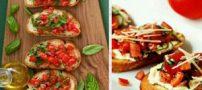 طرز تهیه بروسکتا پیش غذای ایتالیایی
