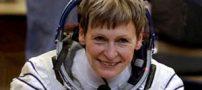 دارنده رکورد پیرترین خانم فضانورد به فضا رفت +عکس