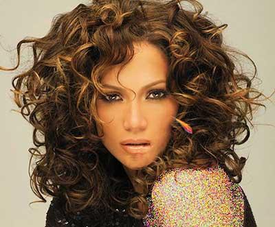 تصاویر مدل موهای جدید و موج دار جنیفر لوپز