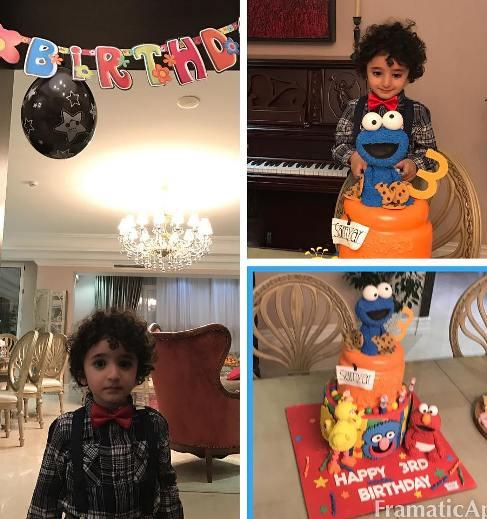 تصاویر مراسم جشن تولد سامیار پسر شیلا خداداد