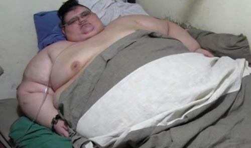 رکورد چاق ترین مرد جهان شکسته شد +تصاویر
