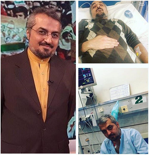 مشکل قلبی مجری شبکه خبر بخاطر آلودگی هوا +عکس