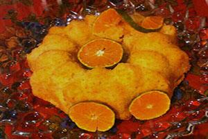 طرز تهیه کیک نارنگی خوشمزه و شیک