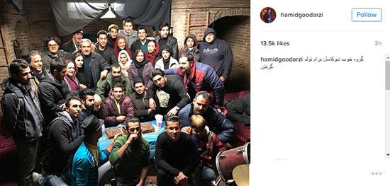 عکس جشن تولد حمید گودرزی در نیوکاسل