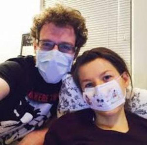 آلرژی عجیب این زن به شوهرش +عکس