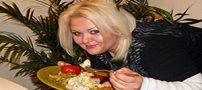 زن چاق و زیبایی که شوهرش را شوکه کرد +تصاویر