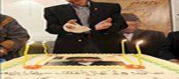 کیک تولد جمشید مشایخی و اتفاق بد روز تولدش+عکس و مصاحبه
