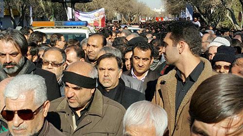 جزئیات و تصاویر تشییع کشته های حادثه قطار تبریز مشهد + 14 عکس