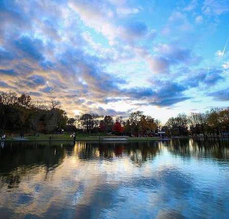 عکس های زیبا و عاشقانه از مناظر پاییزی