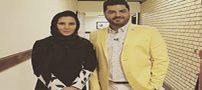 سام درخشانی و همسرش کنار فامیل در آمریکا +تصاویر