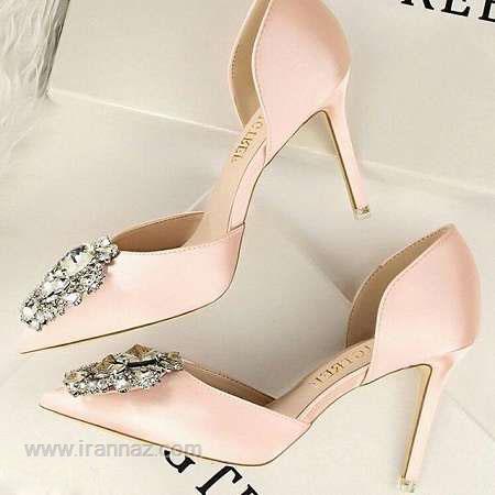 زیباترین مدل کفش مجلسی پاشنه بلند زنانه