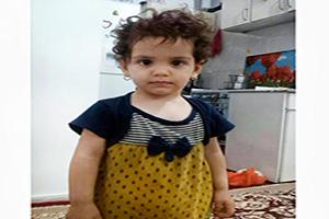 زهرا کوچولوی دو ساله بعد از 13 روز پیدا شد +فیلم