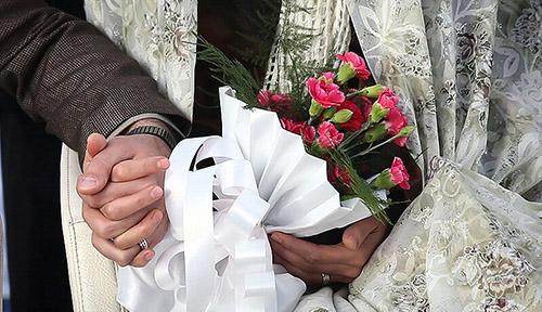 برگزاری مراسم عقد در بیماستان بزرگ دزفول +تصاویر