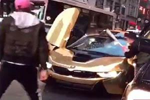 خودنمایی نابجا باعث له شدن BMW لوکس شد +تصاویر