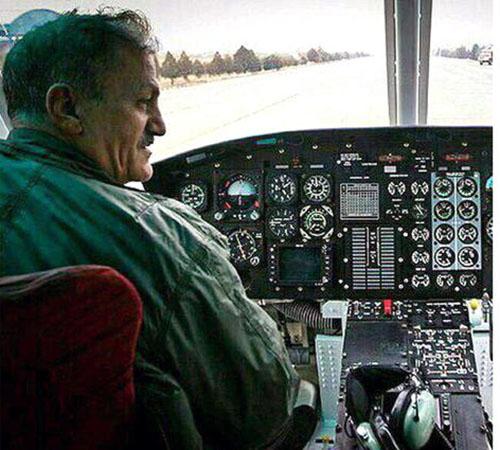 تصاویر و فیلم سقوط هلیکوپتر در چیتگر