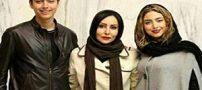 بازیگر زن مشهور در کنار نوه های فردین