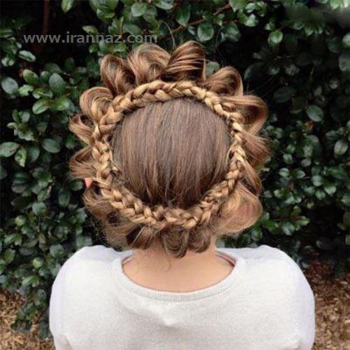 زیباترین مدلهای بافت مو دخترانه