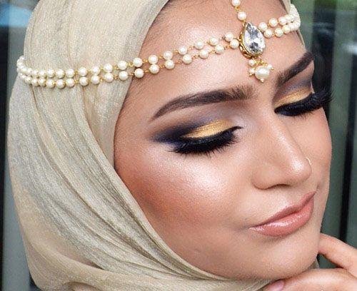 زیباترین مدلهای آرایش خلیجی Sumera Waheed
