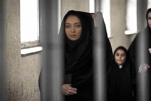 نیکی کریمی پشت میله های زندان +عکس