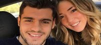 جنجال ازدواج فوتبالیست مشهور با مانکن زیبا +عکس