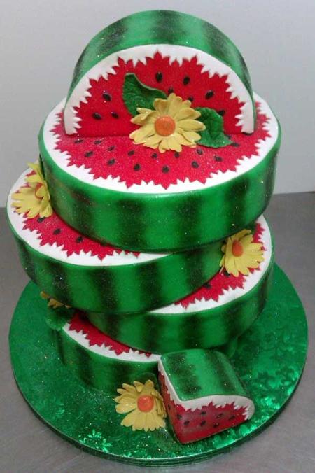 تصاویر زیباترین مدلهای تزئین کیک شب یلدا
