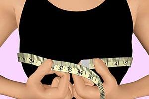 روش اندازه گیری سینه و سایز پستان و سوتین +عکس
