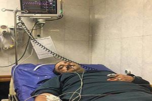 مهران غفوریان در بیمارستان بستری شد +عکس