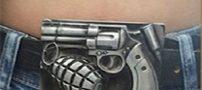 جنجال کمربند انتحاری یک آذری در بیمارستان دولتی +عکس