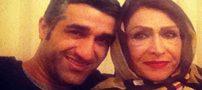 پژمان جمشیدی و تبریک تولد مادر مرحومش+عکس