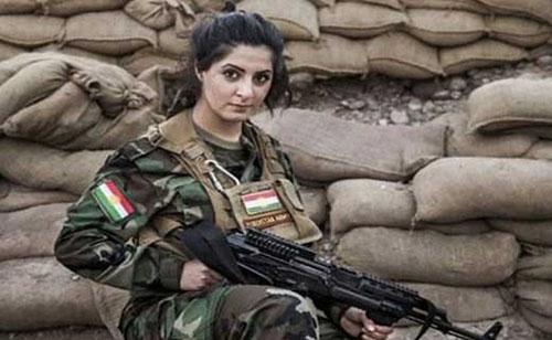 جایزه یک میلیون دلاری داعش برای سر دختر کرد ایرانی +عکس
