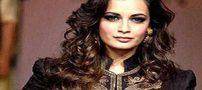 سفر خانم دیا میرزا بازیگر هندی سلام بمبئی به ایران+عکس