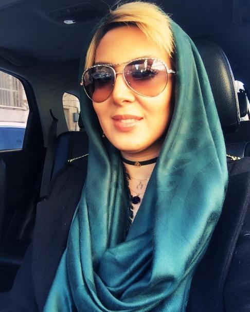 علائق جالب لیلا بلوکات و خودرو شخصی اش +عکس