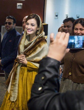 خانم بازیگر هندی مشهور در تهران +تصاویر