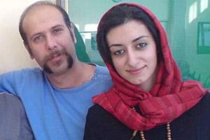بیوگرافی محمد بحرانی صداپیشه جناب خان و همسرش +عکس