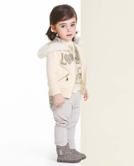 زیباترین مدلهای لباس زمستانی بچگانه
