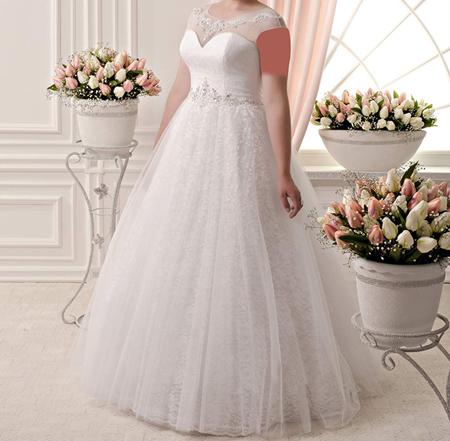 گالری مدل لباس عروس سایز بزرگ