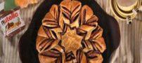 روش پخت کیک ستارهای نوتلا
