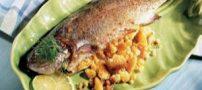 طرز تهیه ماهی شکم پر خوشمزه +عکس