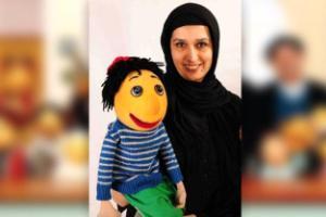 دنیا فنی زاده عروسک گردان کلاه قرمزی درگذشت +عکس