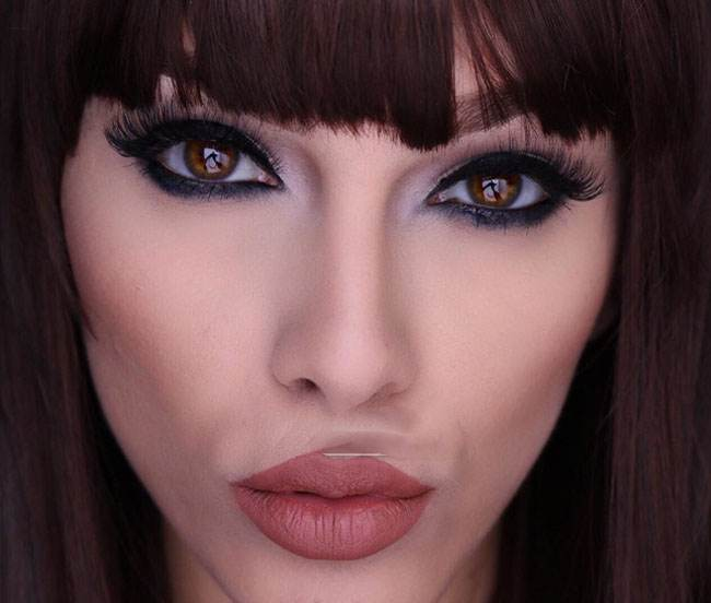 زیباترین مدلهای جدید آرایش صورت از آرایشگر معروف
