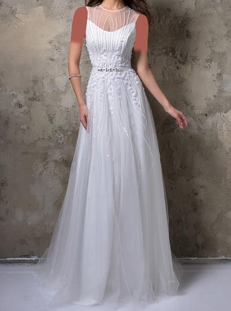 شیک ترین لباس های مجلسی سفید مد سال