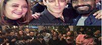 تصاویر مراسم جشن تولد سلمان خان
