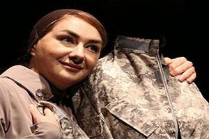 بازیگر زن ایرانی زیبا در نقش همسر سرباز آمریکایی +عکس